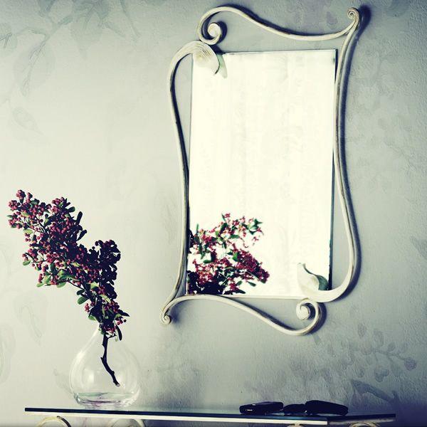 Eleonora specchio rettangolare in ferro disponibile in - Specchio anticato ...