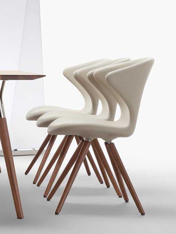Concept W Designer Stuhl Tonon Aus Holz Und Polyurethan