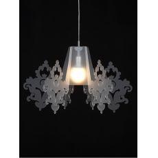 Amarilli - Lampe à suspension avec paralume en méthacrylate, disponible en différentes couleurs