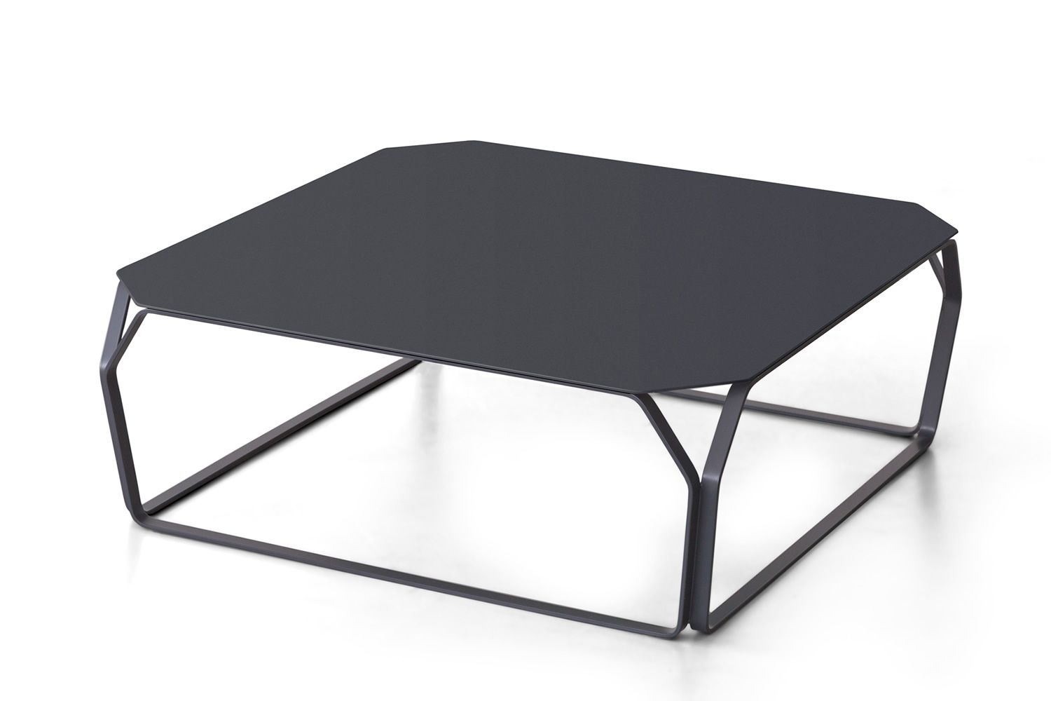 tray 2 metal table design en m tal carr e ou rectangulaire disponible en plusieurs couleurs. Black Bedroom Furniture Sets. Home Design Ideas