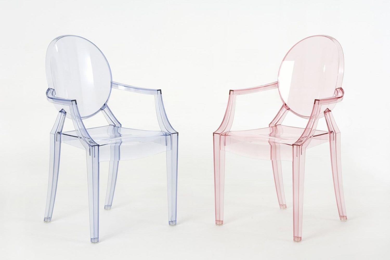 Lou lou ghost kartell design kinderstuhl transparentes oder farbiges polycarbonat stapelbar - Stuhl fur kinder ...