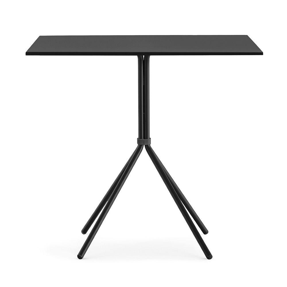 nolita t fester tisch pedrali aus metall mit runder oder viereckiger platte auch f r den. Black Bedroom Furniture Sets. Home Design Ideas
