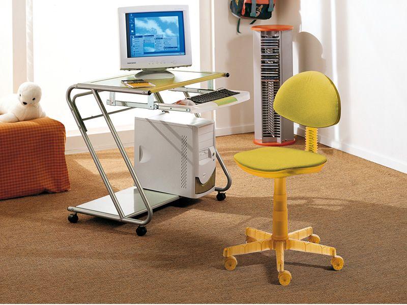 Sedie Ufficio Arancio : Funny sedia da ufficio domitalia in policarbonato e tessuto