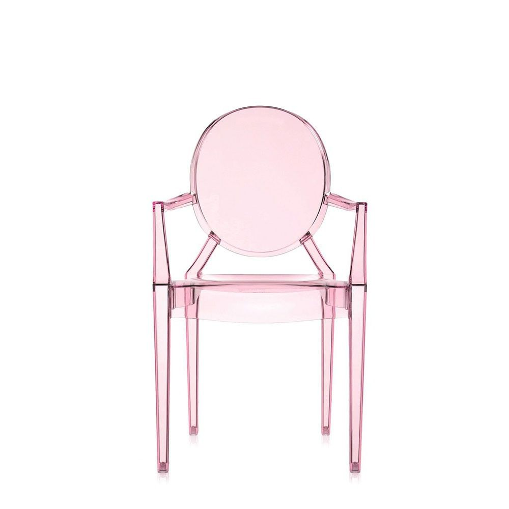 Lou lou ghost chaise kartell design pour enfants en for Chaise en polycarbonate