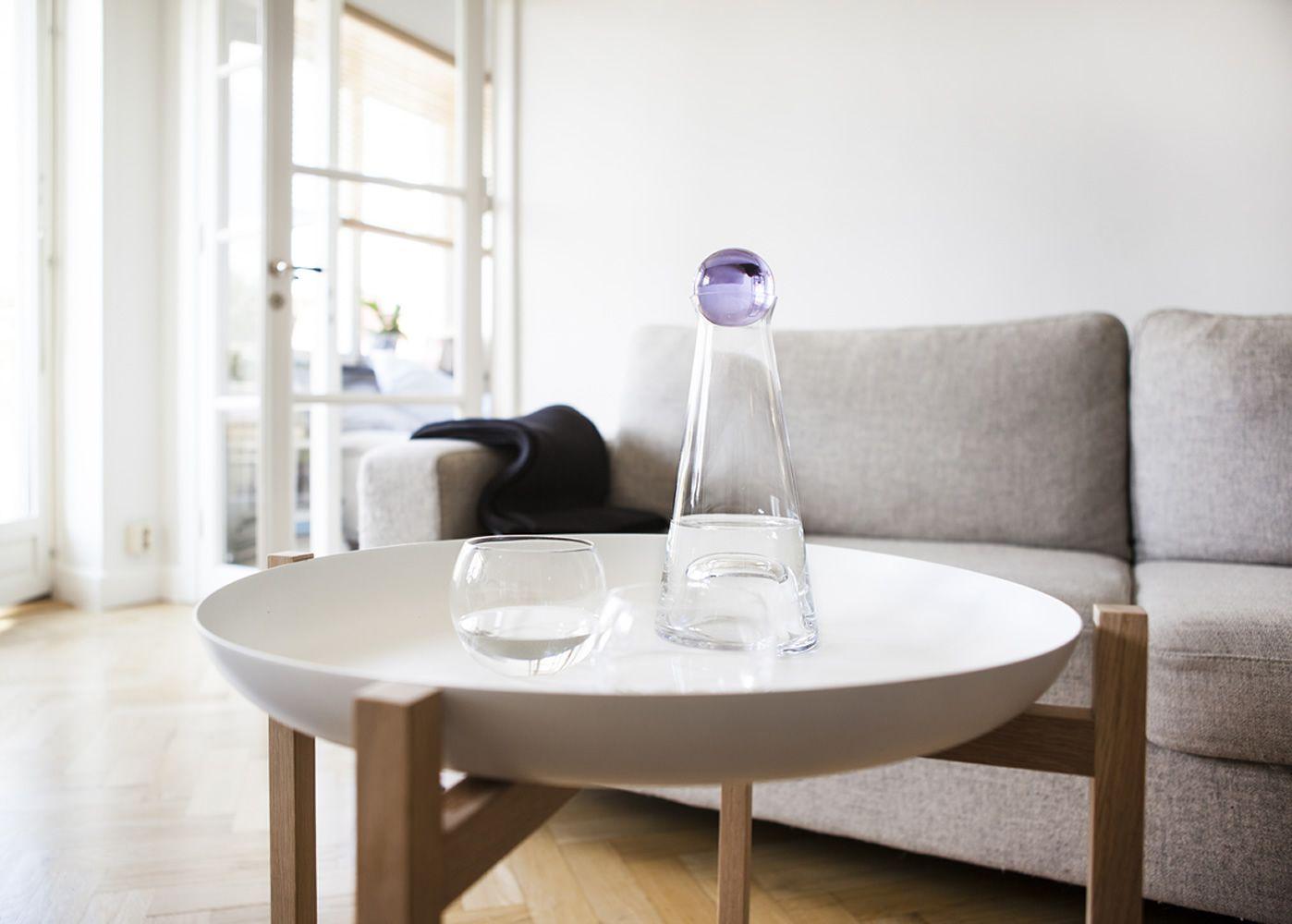 Tavolini In Legno Bianco : Tablo tavolino vassoio in legno con piano in metallo diverse