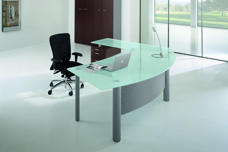 X time work 02 scrivania da ufficio con penisola e for Coin tavoli