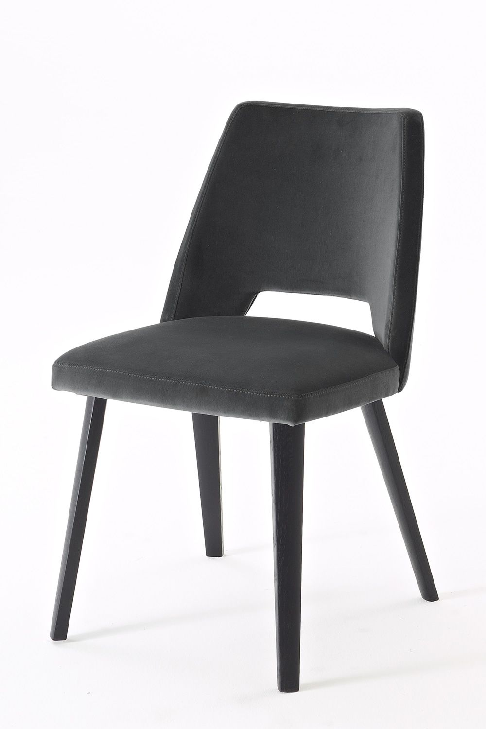 Grace colico design stuhl aus eichenholz in schwarz for Stuhl design outlet