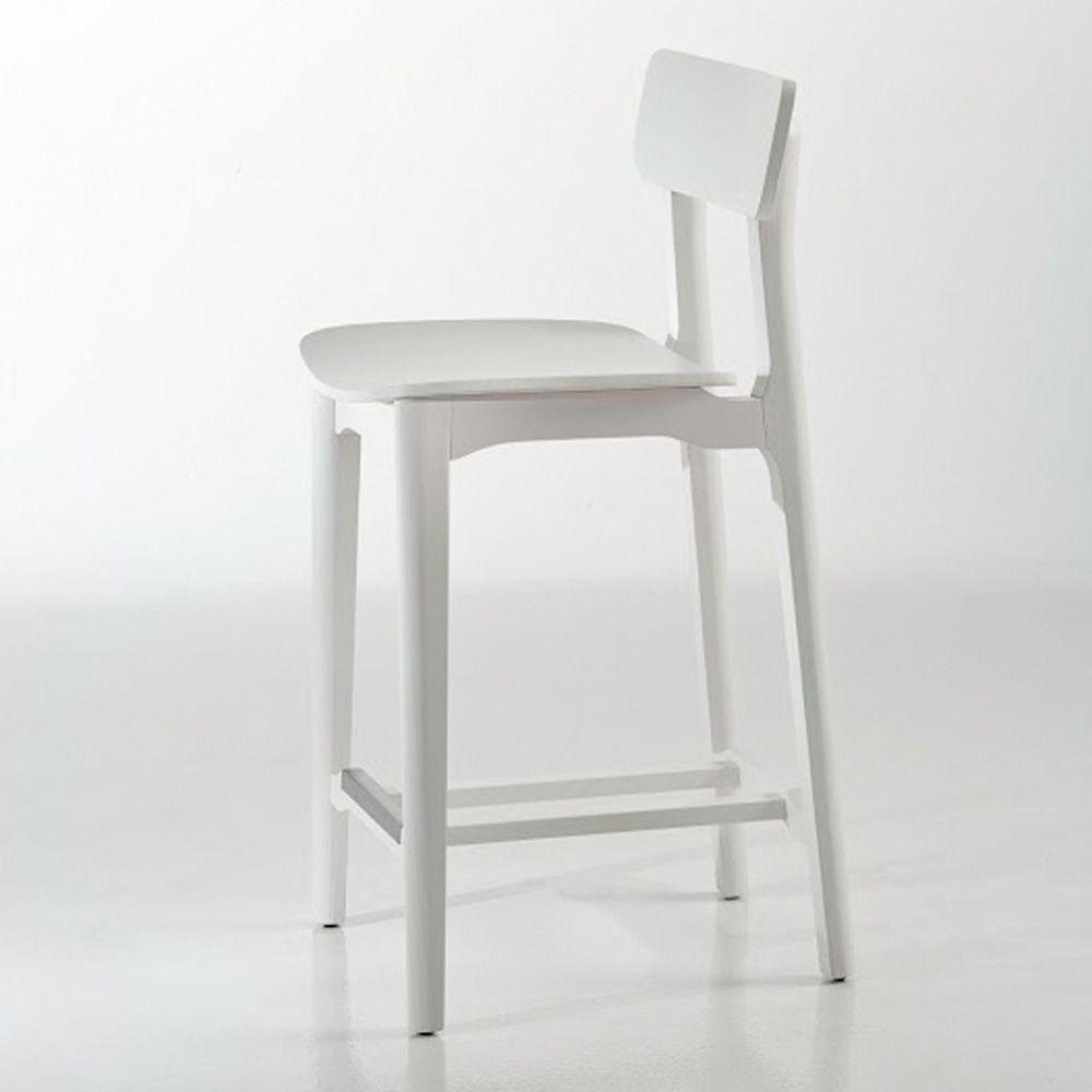 cacao sg designer hocker von chairs more aus holz in verschiedenen farben verf gbar h he 65. Black Bedroom Furniture Sets. Home Design Ideas