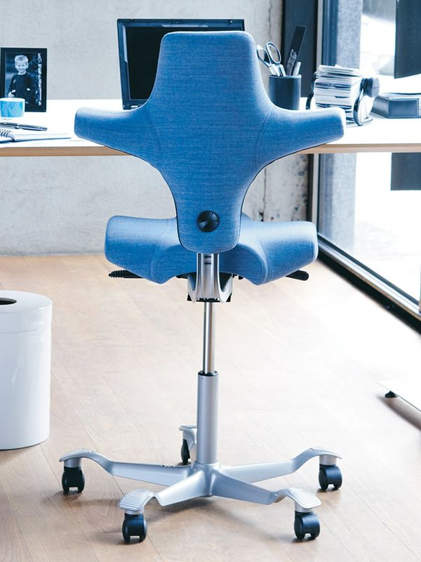 Capisco 8106 silla ergon mica de h g para oficina con for Sillas ergonomicas para pc