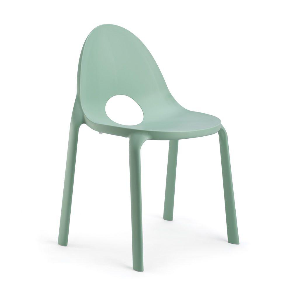 Drop sedia infiniti in polipropilene impilabile anche per giardino - Sedia polipropilene impilabile ...