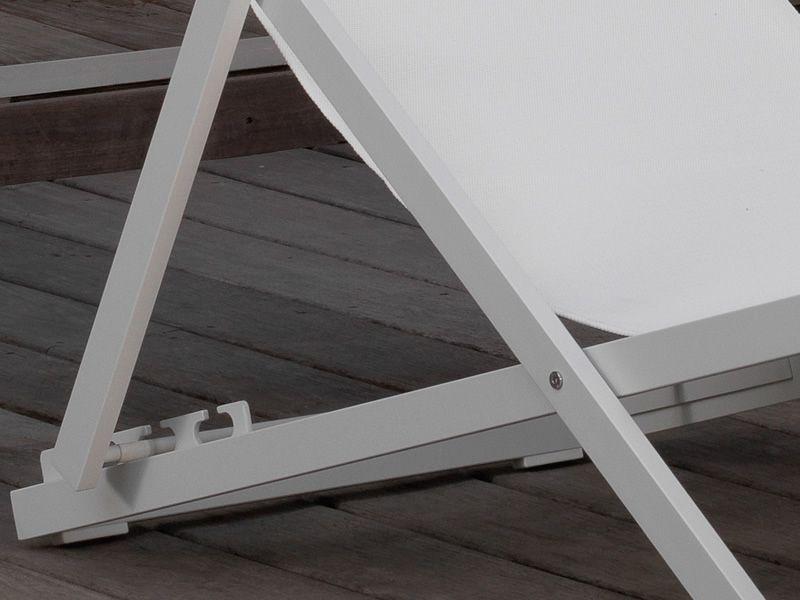 Liegestuhl Klappliegestuhl Metall Holz Oder Kunststoff ~ Touch Liegestuhl aus Aluminium und Textilen, mit verstellbarer