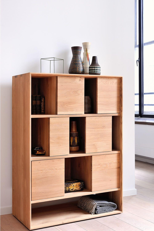 Soggiorno legno naturale nordic r mobile soggiorno ethnicraft in legno diverse misure e with - Software progettazione mobili legno gratis ...