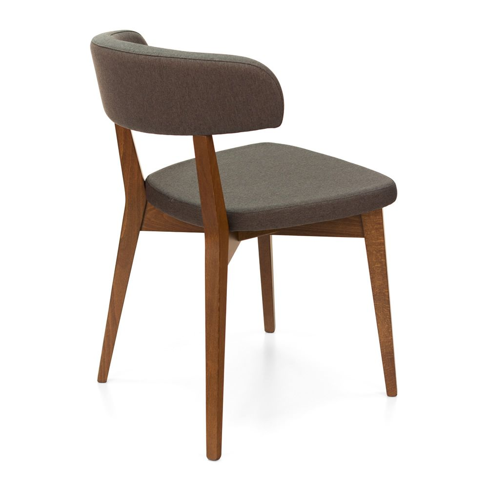 Cb1536 Siren Connubia Calligaris Wooden Chair Padded