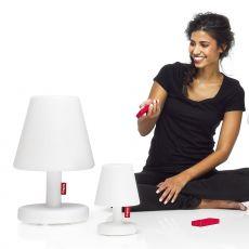 Edison The Medium - Lampada da tavolo Fatboy, in polipropilene bianco, con telecomando, LED, anche per esterno