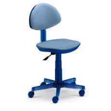 Funny - Sedia da ufficio Domitalia in policarbonato e tessuto, girevole e regolabile, diversi colori disponibili