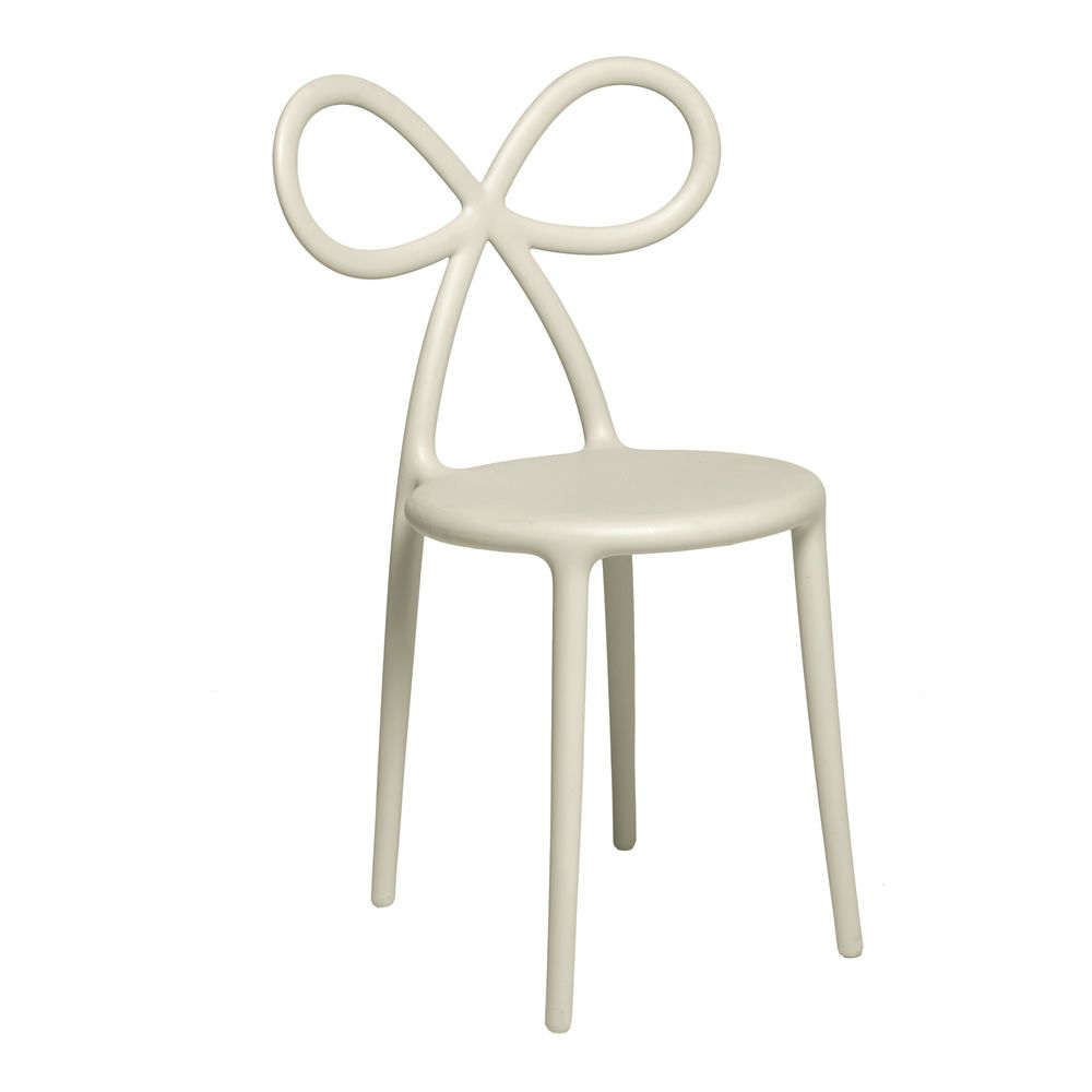 ... In Ribbon Chair   Design Chair In Polypropylene, White Colour ...