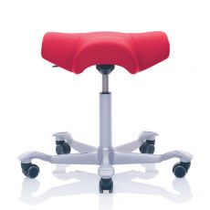 Capisco ® Puls  S3 - Ergonomic swivel stool by HÅG, adjustable height, saddle seat