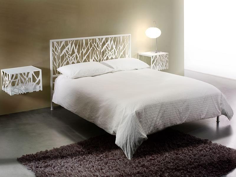 Green   letto matrimoniale moderno in ferro, disponibile in ...