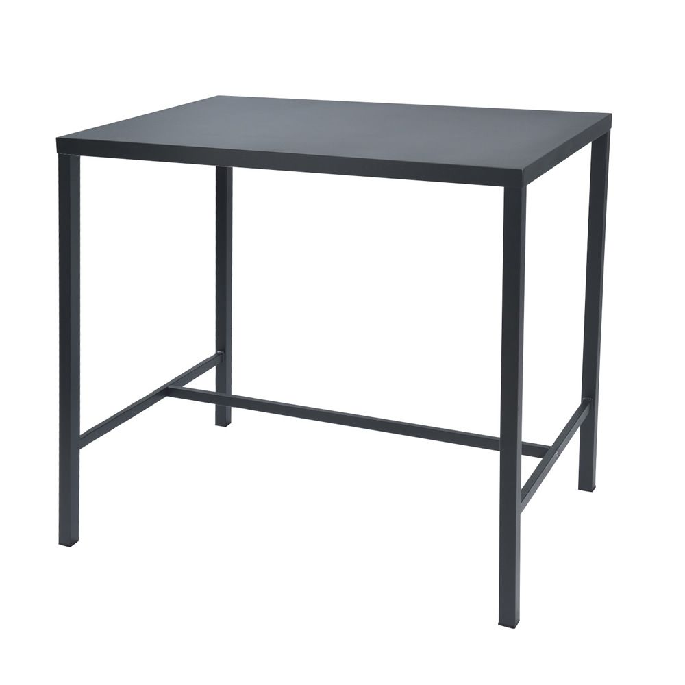 rig72th high metal table different sizes and colours available for garden height 105 cm. Black Bedroom Furniture Sets. Home Design Ideas