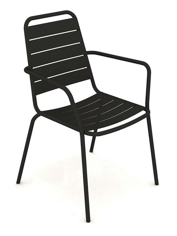 havana p fauteuil design en m tal empilable diff rentes couleurs pour jardin sediarreda. Black Bedroom Furniture Sets. Home Design Ideas