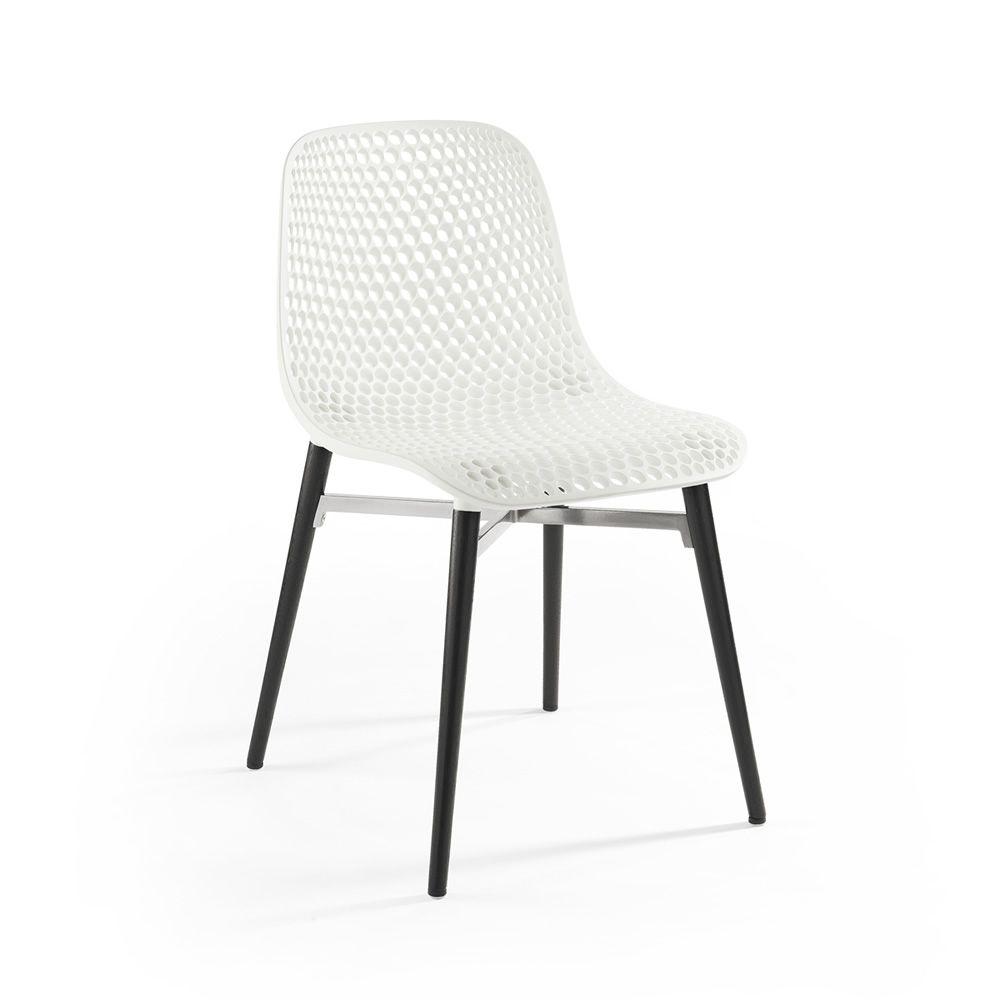 Next sedia infiniti in legno con seduta in tecnopolimero diversi colori sediarreda - Sedia di design ...