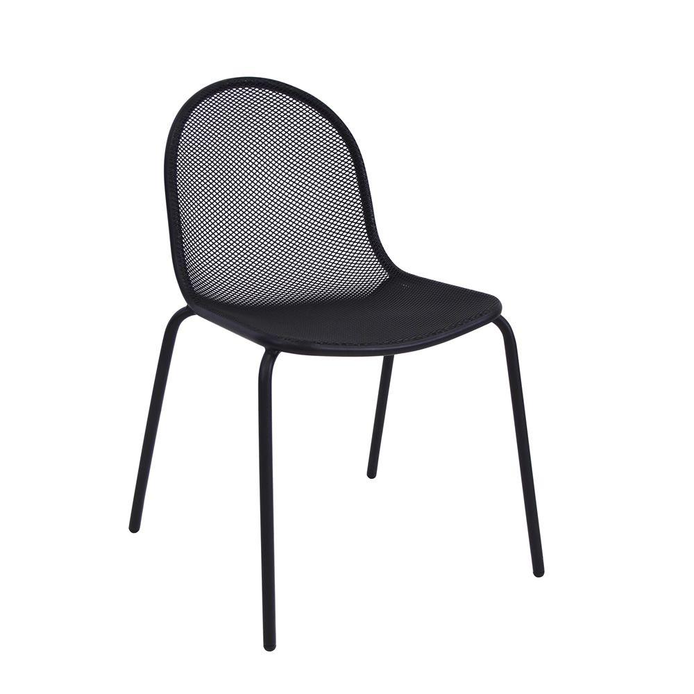 Nova 660 para bare y restaurantes silla emu met lica y - Silla metalica apilable ...