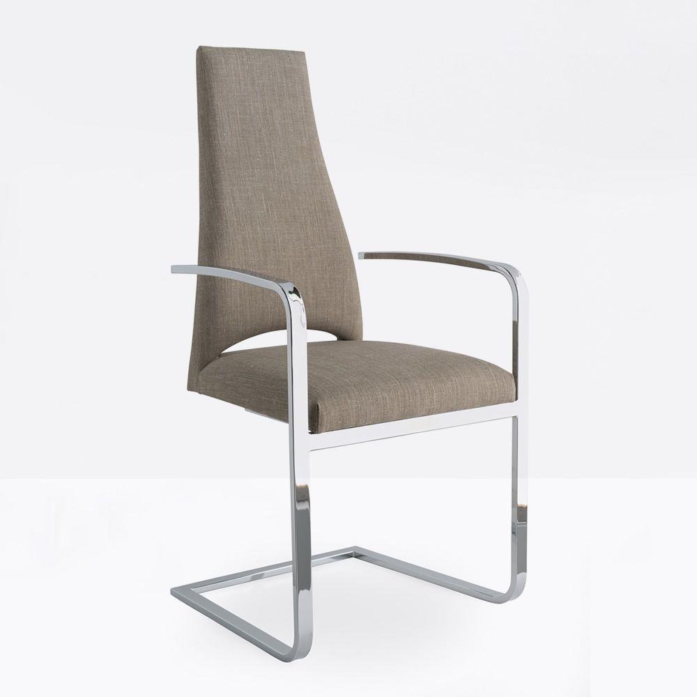 Cs1381 juliet sedia calligaris in metallo con rivestimento in tessuto con braccioli - Sedia juliet calligaris prezzo ...