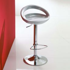 Arizona 44.47 Off - Swivel and height-adjustable stool, in metal and technopolymer, available in different colours