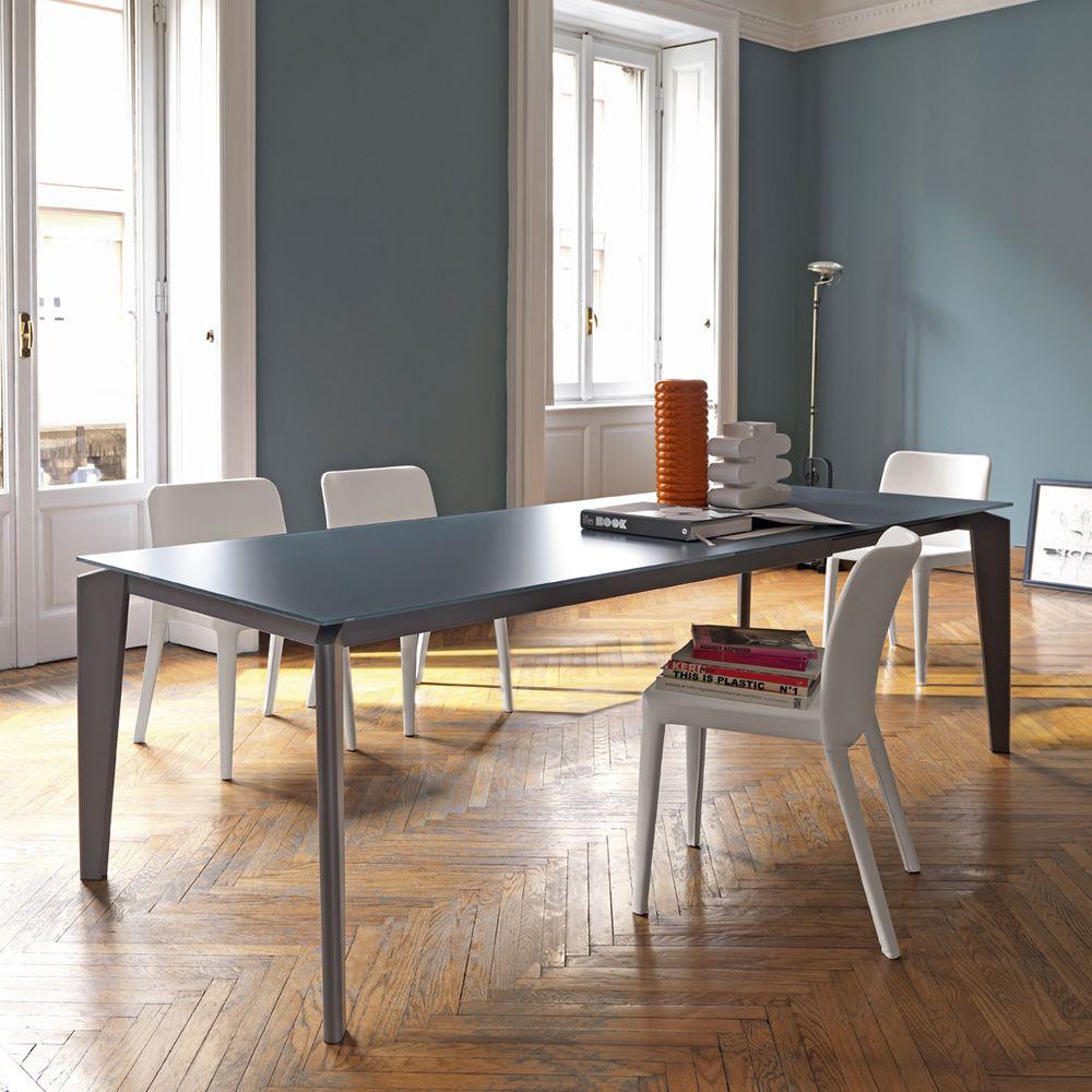 akil tisch midj aus metall platte aus melamin mdf glas oder kristall keramik 140 x 90 cm. Black Bedroom Furniture Sets. Home Design Ideas