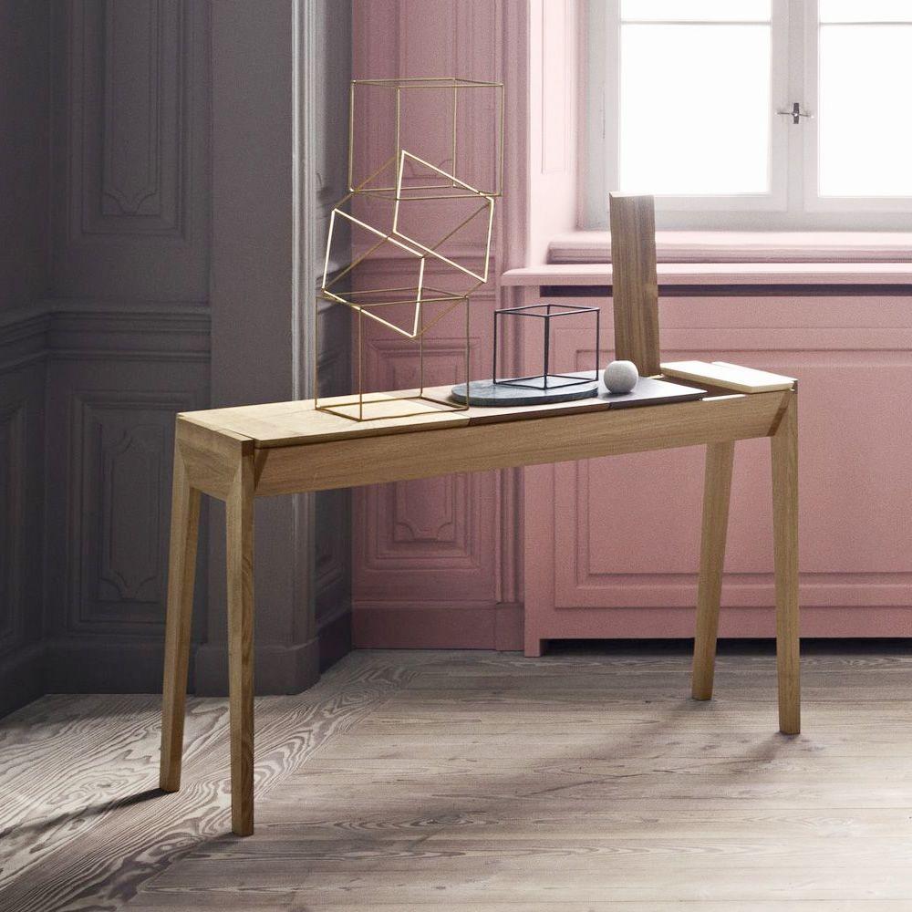 arbor schreibtisch aus holz mit f chern. Black Bedroom Furniture Sets. Home Design Ideas