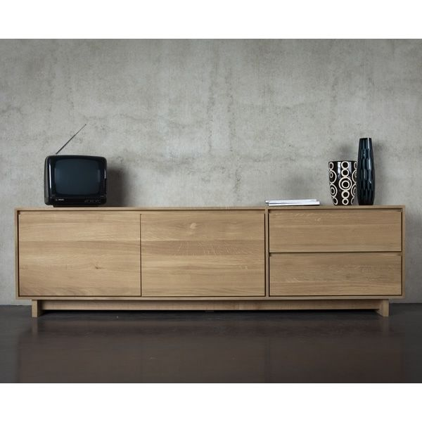 Wave Tv Mueble Para Tv Ethnicraft De Madera En Distintas