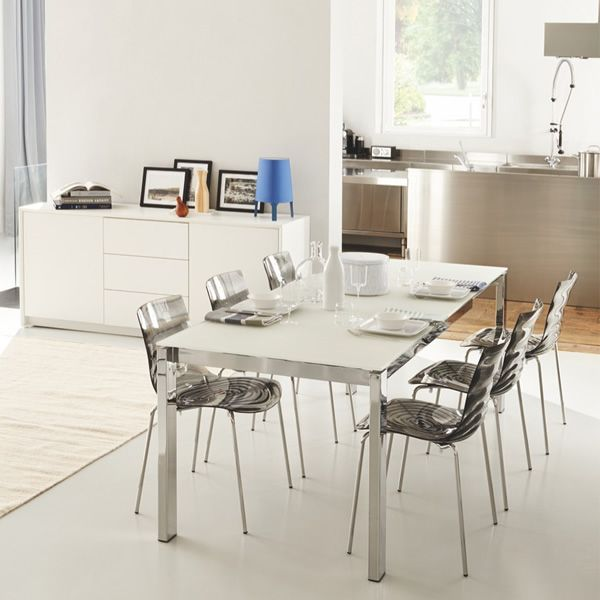 Cb4010 160 baron c tavolo connubia calligaris in for Calligaris baron