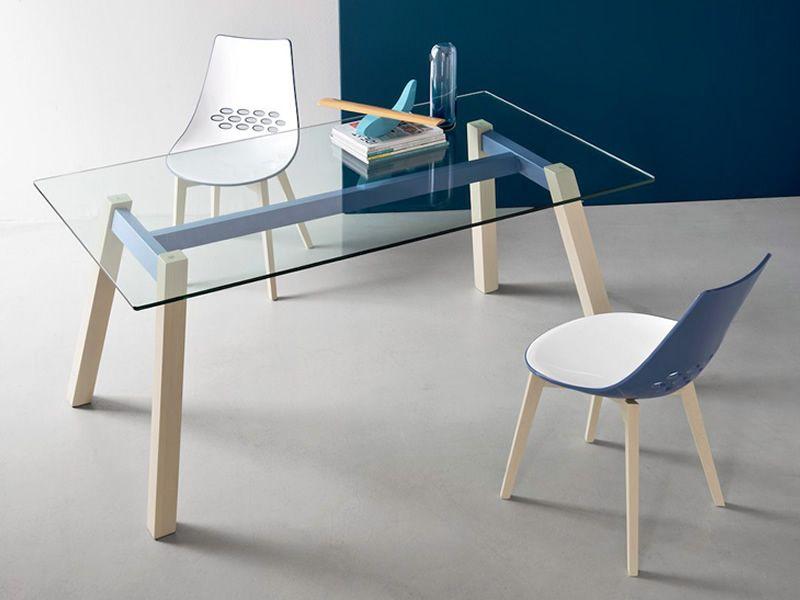 CB4781 T-Table - Tavolo fisso Connubia - Calligaris in legno e ...
