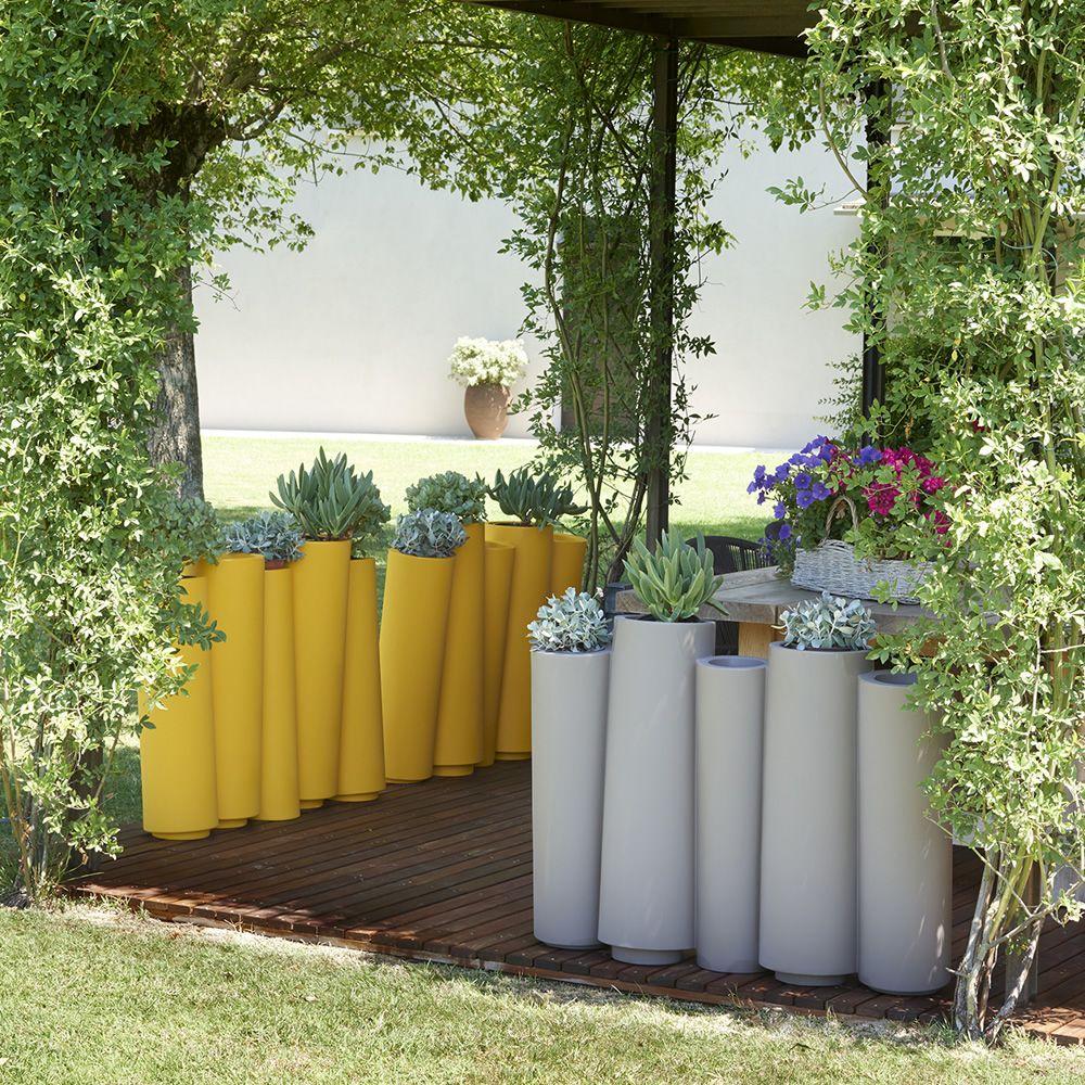 bamboo vaso slide in polietilene diversi colori anche