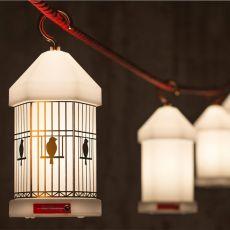 Lampie-On - Lanterna da giardino Fatboy, in policarbonato bianco, a batteria ricaricabile, LED, anche per esterno