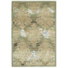 Antigua 205 - Tapis design en soie végétale et polypropylène, en différentes mesures et couleurs