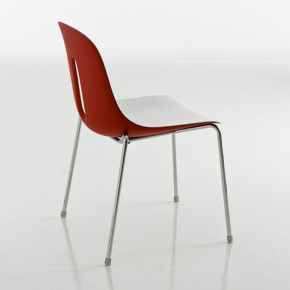 gotham chaise empilable chairs more en m tal et en. Black Bedroom Furniture Sets. Home Design Ideas