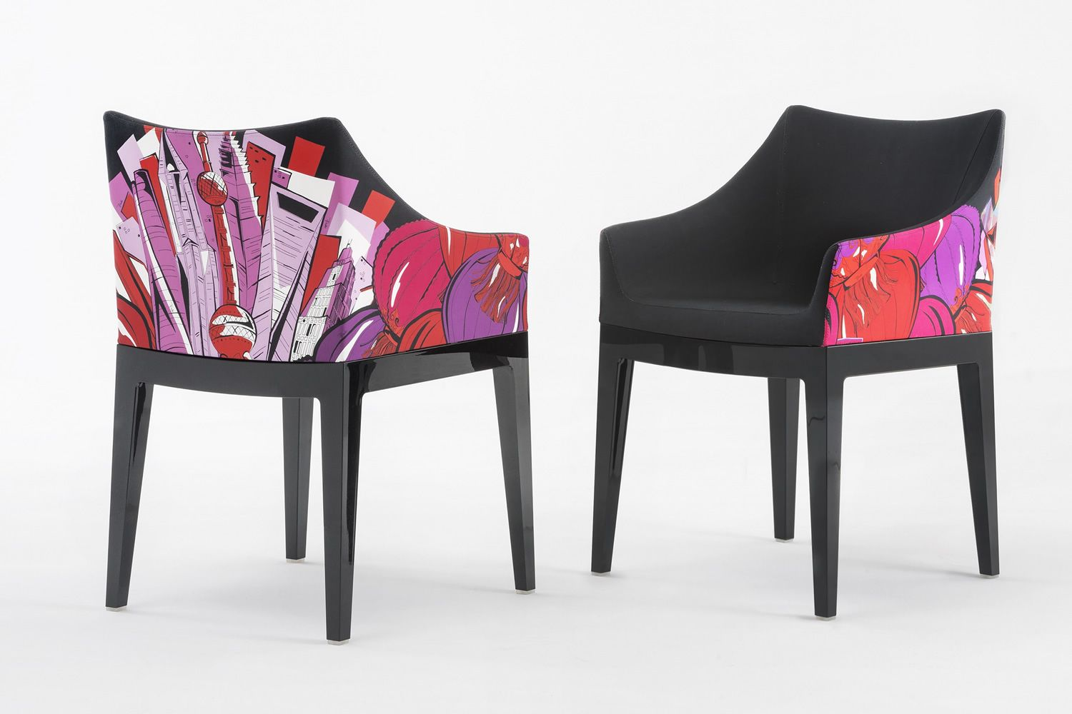 Madame pucci edition designer sessel kartell ausgabe world of