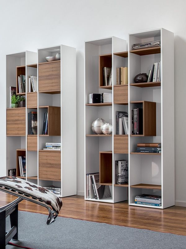 Abaco 7243: Bücherregal Tonin Casa aus Holz, in verschiedenen ...