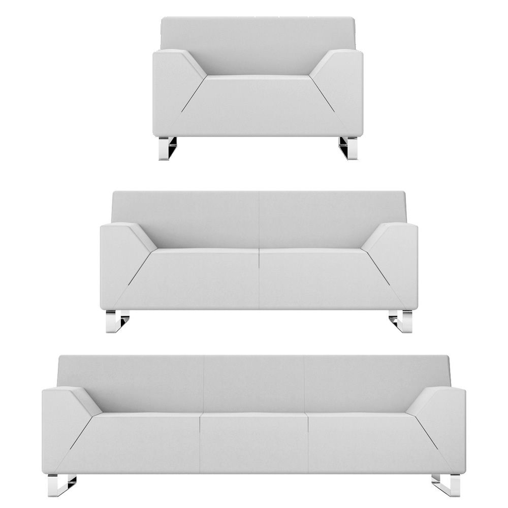 asso 1 2 oder 3 sitzer sofa f r wartezimmer mit. Black Bedroom Furniture Sets. Home Design Ideas