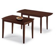 Sydney - Domitalia wooden table, several finishings, 70x110 cm, extending