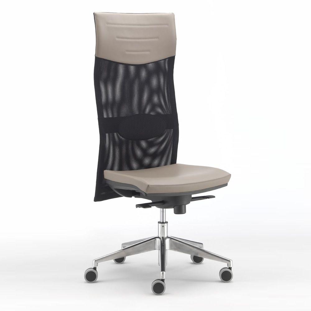 ml496 chaise operationelle de bureau dossier haut en maille avec appuie t te support lombaire. Black Bedroom Furniture Sets. Home Design Ideas