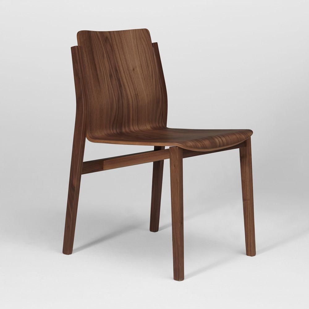 Sticky sedia di design in multistrato impiallacciato for Sedia design usata