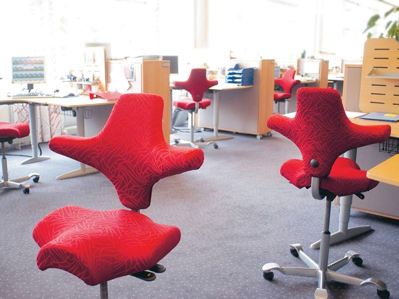 Capisco 8106 silla ergon mica de h g para oficina con for Silla oficina baquet