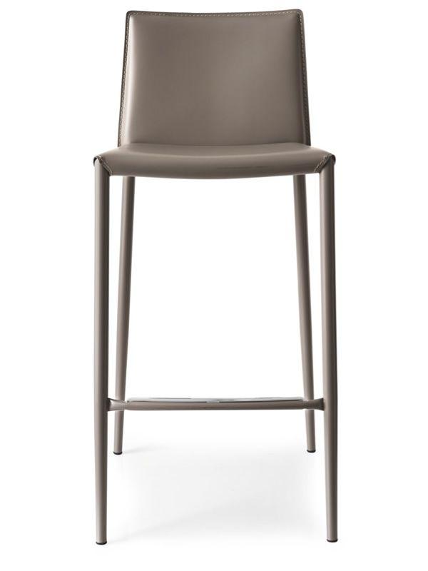 cb1393 boheme hocker connubia calligaris aus metall und lederfaserstoff in verschiedenen. Black Bedroom Furniture Sets. Home Design Ideas