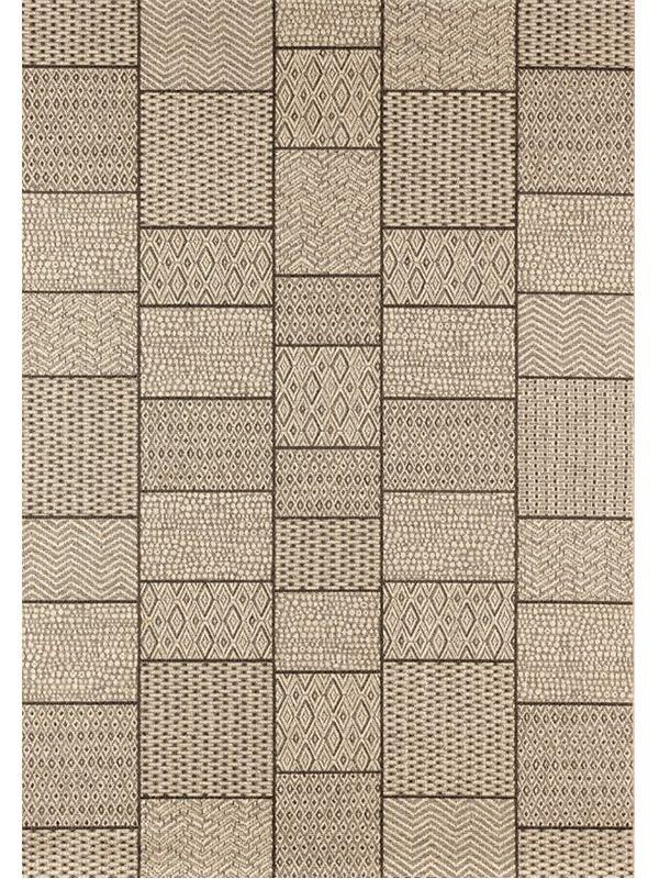 Hampton 06 Moderner Teppich für den Außenbereich
