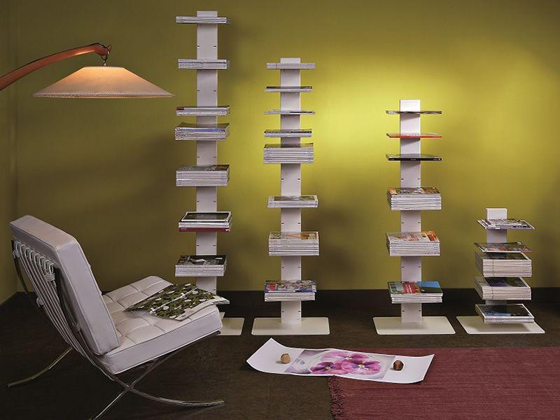 Witty libreria a colonna in metallo diverse altezze disponibili