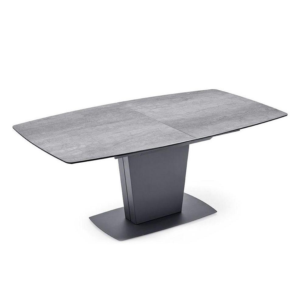 cb4783 r athos rechteckiger tisch connubia calligaris aus metall platte 150 x 100 cm. Black Bedroom Furniture Sets. Home Design Ideas