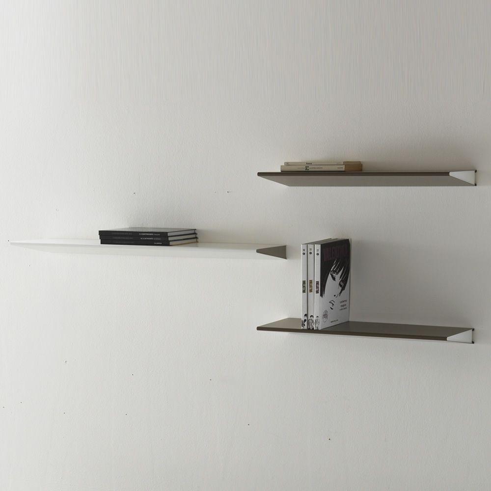 Ala mensola in metallo verniciato disponibile in for Misure mensole