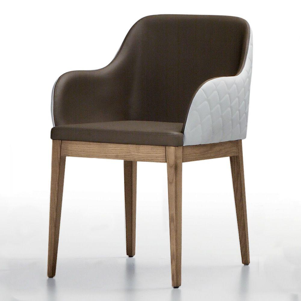 marilyn sessel midj aus holz mit bezug aus leder kunstleder oder stoff sediarreda. Black Bedroom Furniture Sets. Home Design Ideas
